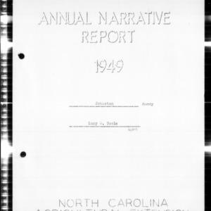 Annual Narrative Report, Johnston County, NC