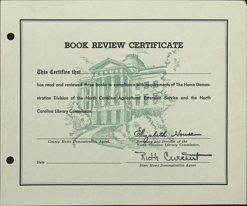 Book Review Certificates :: Administrative Records