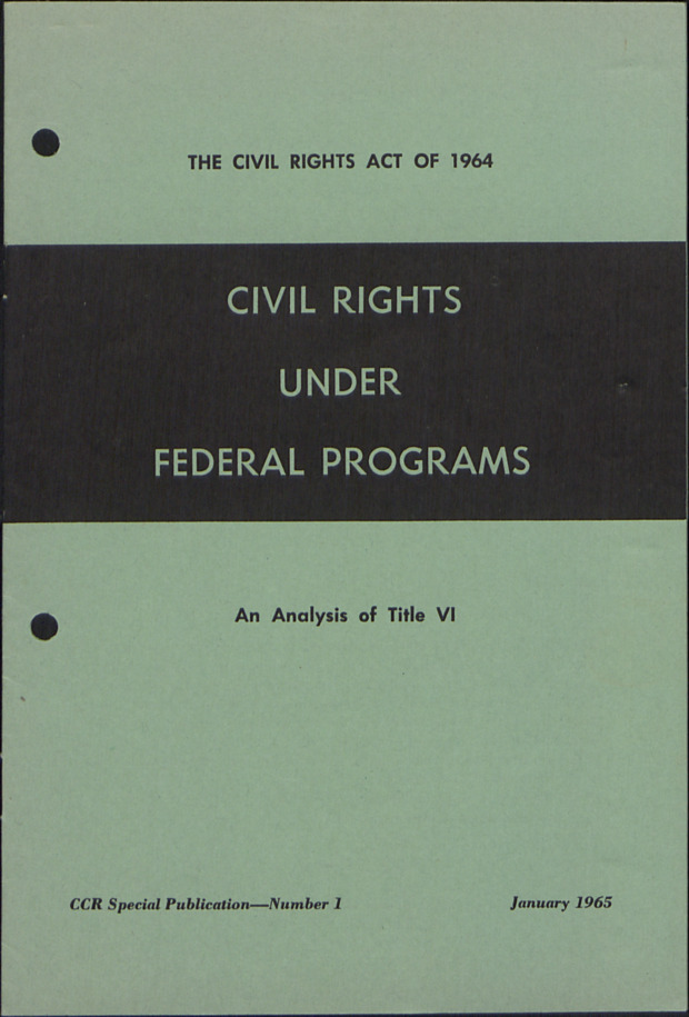 Civil Rights Act :: Administrative Records