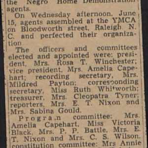 Clippings :: Administrative Records