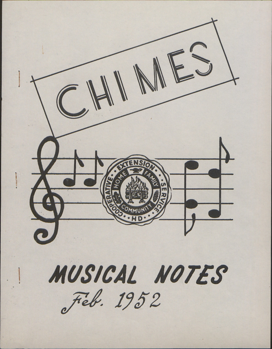"Music -- ""Chimes"" :: Administrative Records"