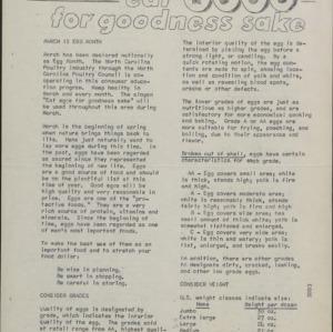 Newsletter -- Tarheel Food Shopper :: Administrative Records