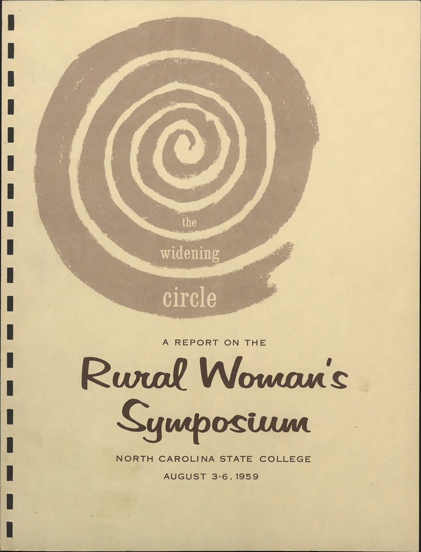 Rural Women's Symposium :: Administrative Records