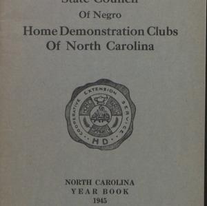 Yearbook -- Negro :: Yearbooks :: Administrative Records