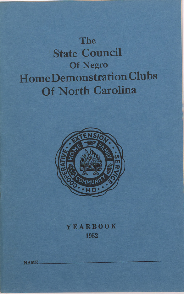 Yearbook -- Negro :: Yearbooks :: Administrative Records