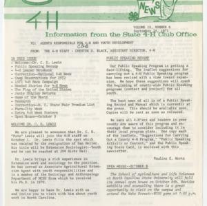 4H News, vol. IX, no. 6