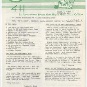 4H News, vol. IX, no. 7