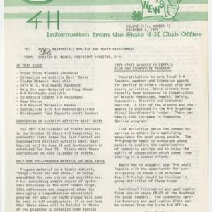 4H News, vol. VIII, no. 13