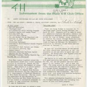 4H News, vol. X, no. 5