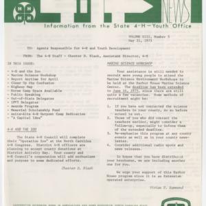 4H News, vol. XIII, no. 5