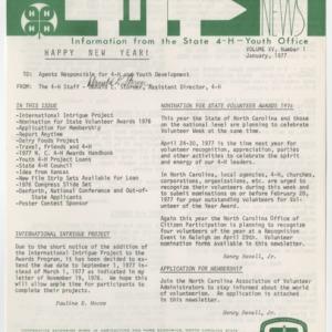 4H News, vol. XV, no. 1