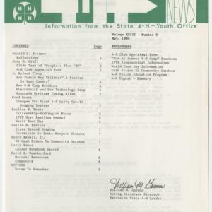 4H News, vol. XXIII, no. 5