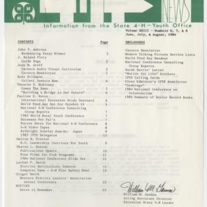 4H News, vol. XXIII, no. 6, 7, & 8