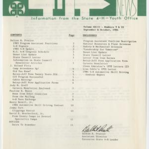 4H News, vol. XXIII, no. 9 & 10