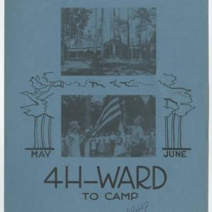 4 H-Ward to Camp May June