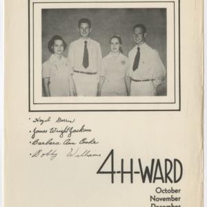 4-H-Ward October November December