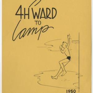 4 H Ward to Camp 1950