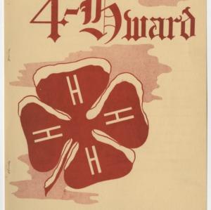 """4-Hward Dec. 1951 Special """"AWARDS"""" Edition"""
