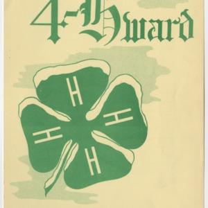 """4-Hward Dec. 1952 Special """"AWARDS"""" Edition"""