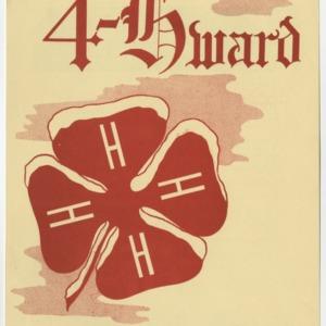 """4-Hward Dec. 1953 Special """"AWARDS"""" Edition"""