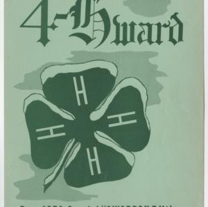 """4-Hward Dec. 1954 Special """"AWARDS"""" Edition"""