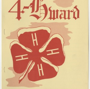 """4-Hward Dec. 1955 Special """"AWARDS"""" Edition"""