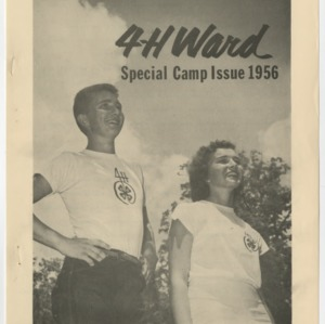 4-H Ward Special Camp Issue 1956