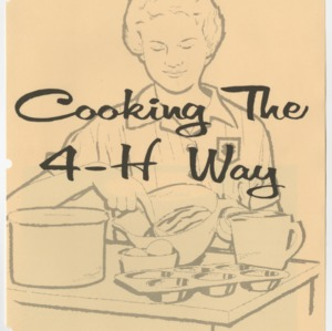 Cooking the 4-H Way (Club Series 15, Reprint)