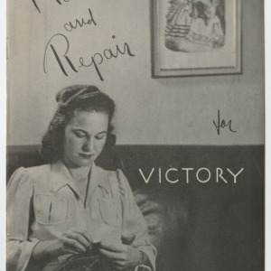 Make and Repair for Victory (4-H Club Series No. 38)