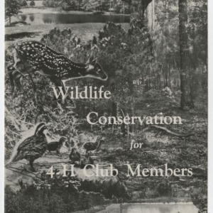 Wildlife Conservation for 4-H Club Members (Club Series No. 61)