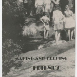Making and Keeping Friends (4-H Club Series No. 62)