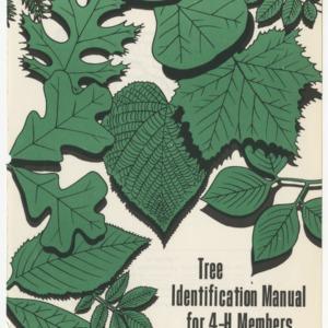 Tree Identification Manual for 4-H Members (Club Series No. 80, Reprint)