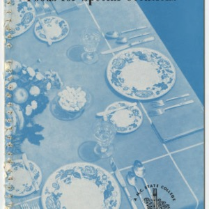 Foods for Special Occasions (Club Series No. 81, Reprint)