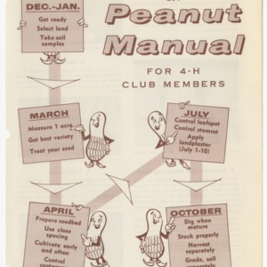 Peanut Manual for 4-H Club Members (Club Series No. 88, Revised)