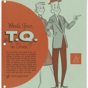 What's Your T.Q. in Dress? (Club Series No. 92, Reprint)