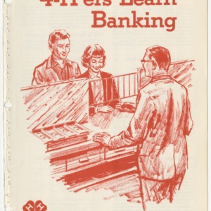 4-H'ers Learn Banking (Club Series 112)