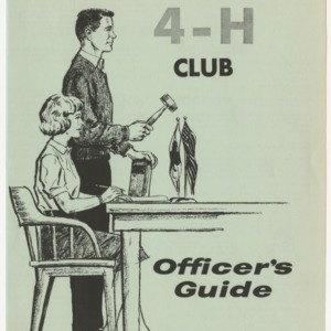 North Carolina 4-H Club Officer's Guide (Club Series 115)