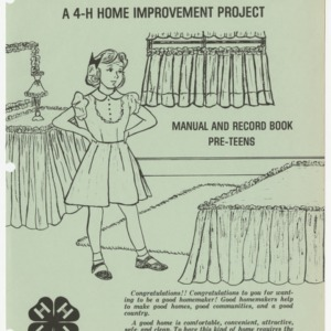 Start With a Small Change : A 4-H Home Improvement Project Manual and Record Book (Club Series 123)