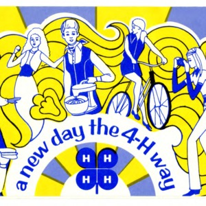 A New Day - the 4-H Way (4-H Flyer 1-35)
