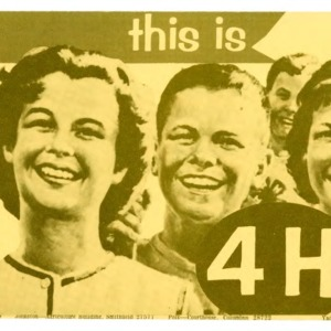 This is 4-H (4-H Flyer 1-9, Revised)