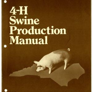 4-H Swine Production Manual (4-H Manual 5-3)