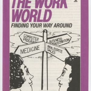 Career Smarts 2, The Work World - Finding Your Way Around (4-H Manual 7-4b)