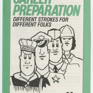 Career Smarts 3, Career Preparation - Different Strokes for Different Folks (4-H Manual 7-4c)