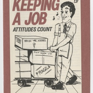 Career Smarts 10, Keeping a Job - Attitudes Count (4-H Manual 7-4j)