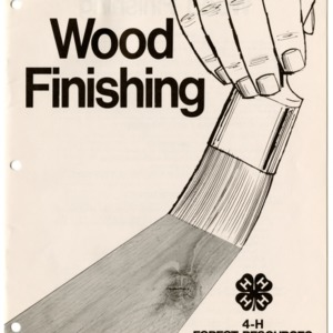 Wood Finishing: 4-H Forest Resources Manual (4-H Manual 14-12)