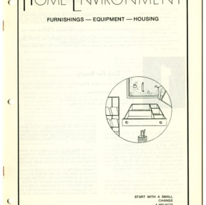Home Environment: Furnishings- Equipment- Housing