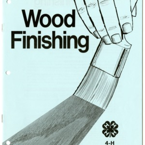 Wood Finishing: 4-H Forest Resources Manual (4-H Manual 14-12, Reprint)
