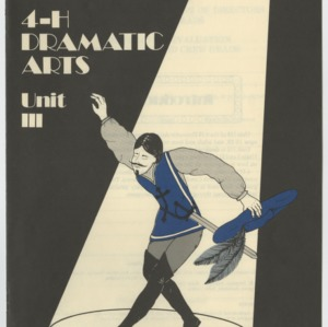 4-H Dramatic Arts Unit 3 (4-H Publication ML-1-95)