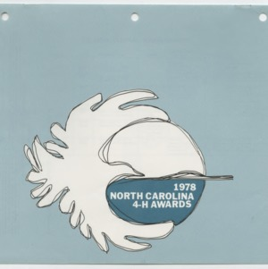 1978 North Carolina 4-H Awards (4-H Publication 0-1-10, Revised 12-1977)