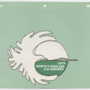 1979 North Carolina 4-H Awards (4-H Publication 0-1-10, Revised 11-1978)